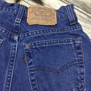 Levi's Shorts - Vintage high waisted Levi's cutoff denim shorts